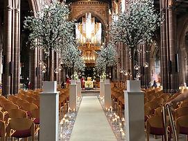 Blossom Tree Wedding Ceremony Manchester Cheshire