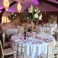 Colshaw Hall Wedding - Burgundy & Blush Floral Wedding with Rose Gold Details