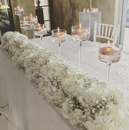 DREAMY CEREMONY TABLE for Katie & Gaz at
