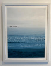 Title: The Beach. Size 11x14 inches