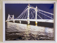 Title: Albert Bridge and The Flood Tide. Size: 17x13 inches