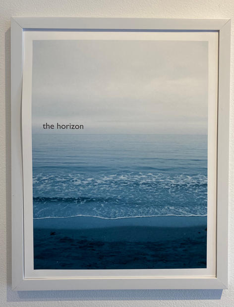 Title: The Horizon. Size 11x14 inches