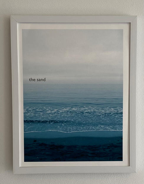 Title: The Sand. Size 11x14 inches