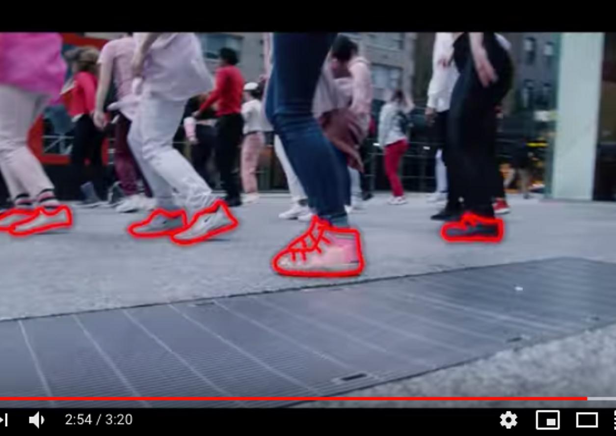 """Concrete Heart"" Music Video Music by Vassy Role: Shuffle Dancer"