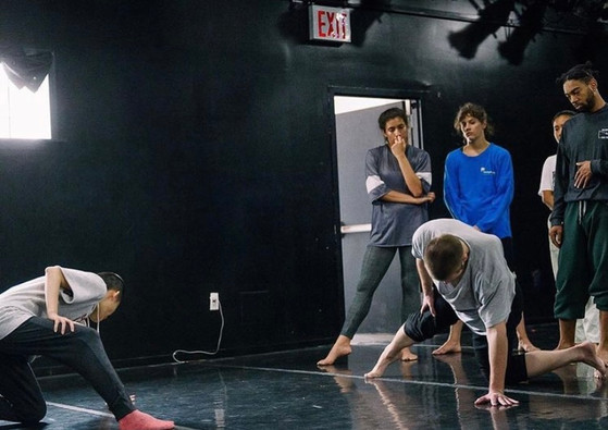 """Still from rehearsal for """"Orz""""  Choreography: I-Ling Liu Photo: Kuoheng Huang"""