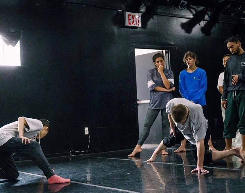 "Still from rehearsal for ""Orz""  Choreography: I-Ling Liu Photo: Kuoheng Huang"