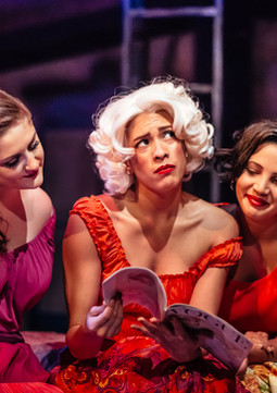 """""""I Feel Pretty"""" West Side Story at Encore Musical Theater Company Role: Consuelo Photo by Michele Anliker"""