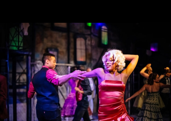 Dance at the Gym West Side Story at Encore Musical Theater Company Photo by Michele Anliker