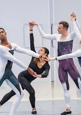 """Transmissions"" by Nick Mauss Whitney Museum Dancers: Quenton Stuckey Kristina Bermudez Brandon Collwes Matilda Sakamoto"
