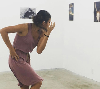 """""""Rigamortis"""" at John Doe Gallery for """"Nude Underwater"""" Exhibit by Christian Zelder Choreography and Dance by Kristina Bermudez"""