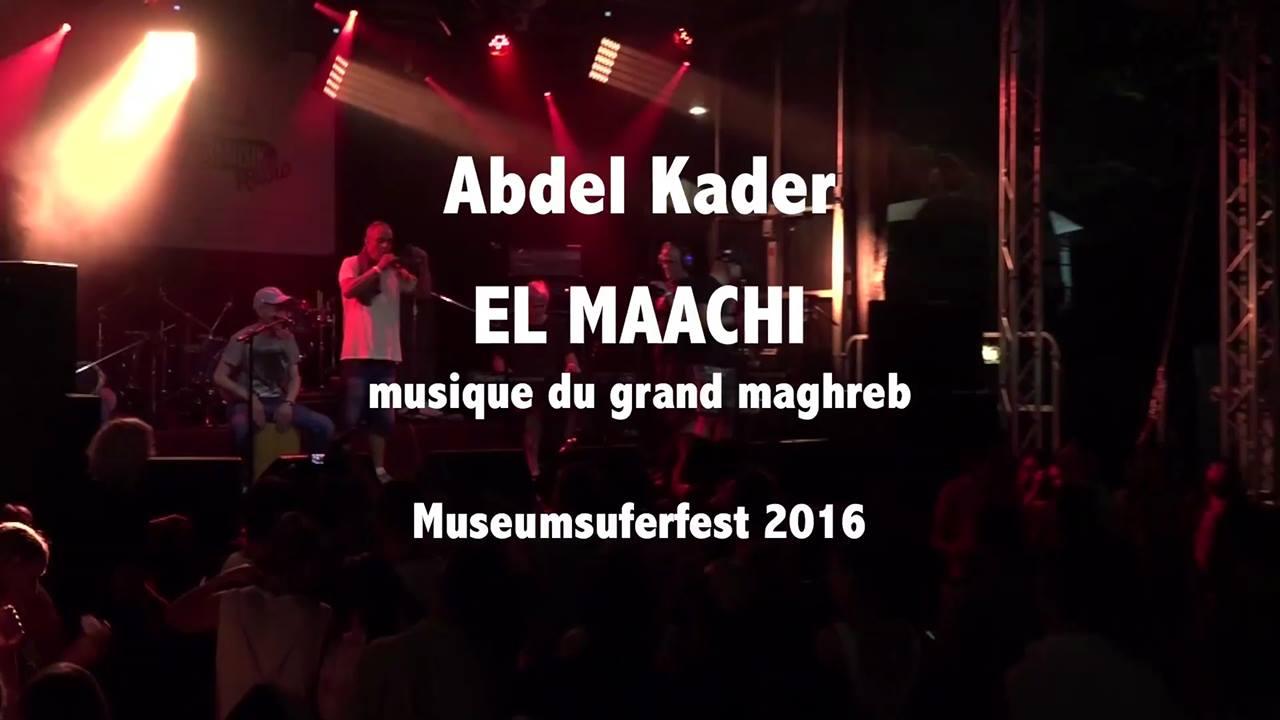 Abdel Kader / El Maachi live
