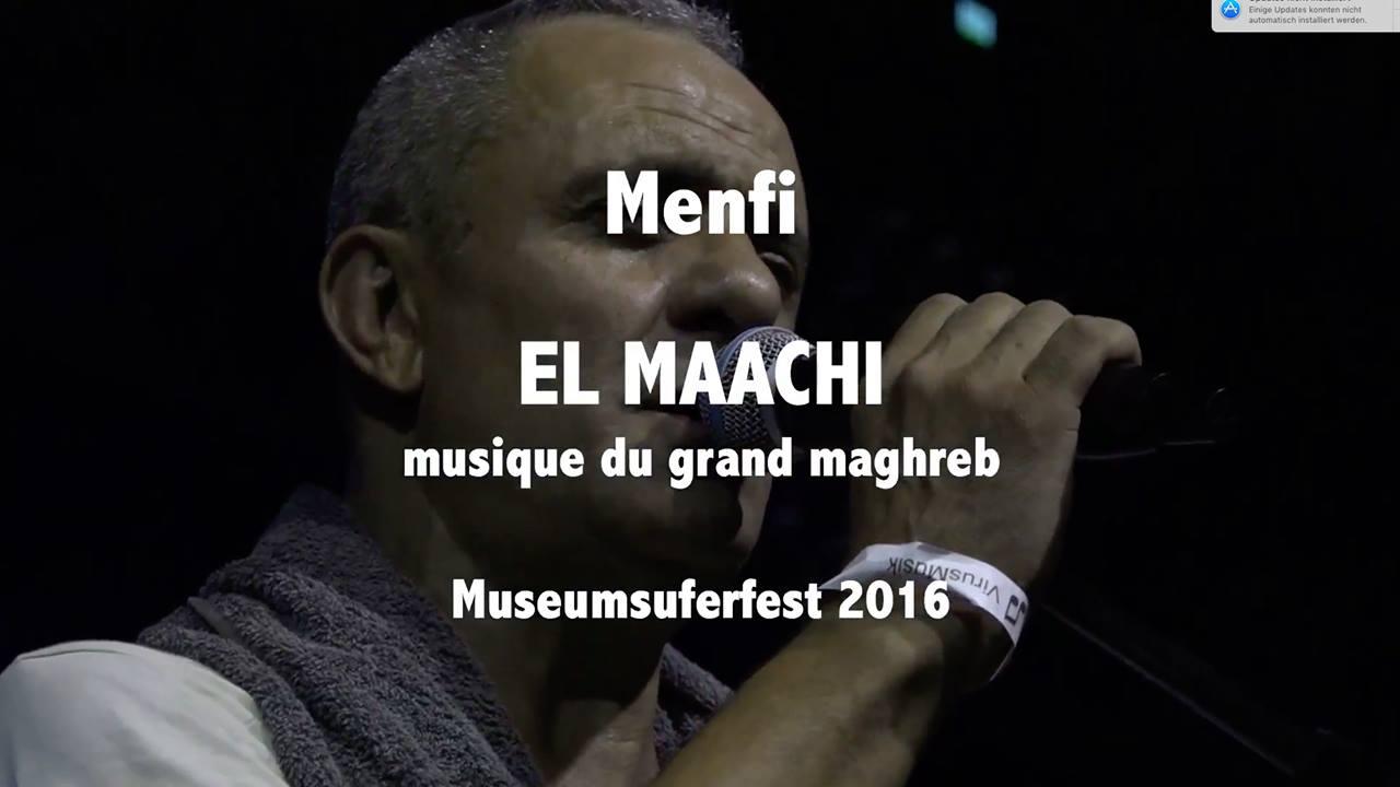 Menfi - El Maachi Musique du grand Maghreb