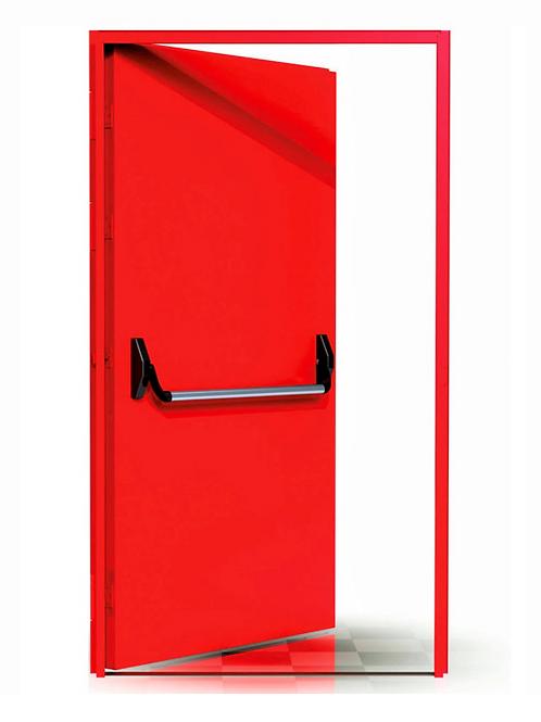 Puerta corta fuego simple