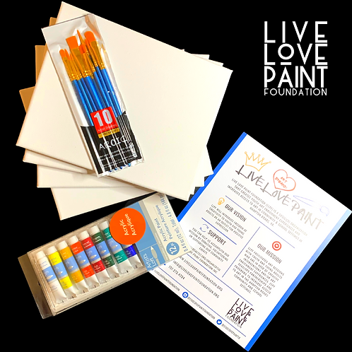 Live Love Paint Kits!