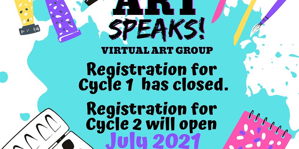Art Speaks! Virtual Art Group