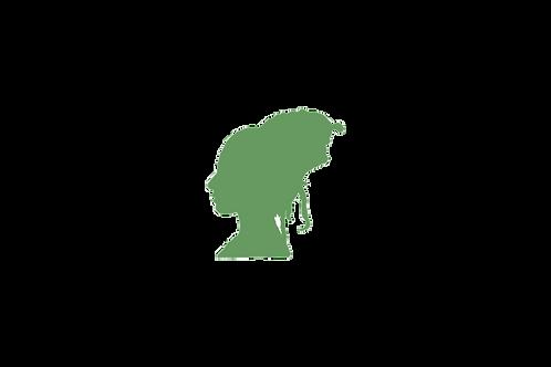 מסיכת חימר ירוק