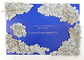 Christmas limited edition box for Ayuko Hishikawa Paper Accessory