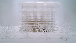 Visited MOMA : Japanese architects exhibition.