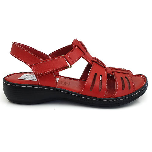 Sandala confort AH/803 ROSU