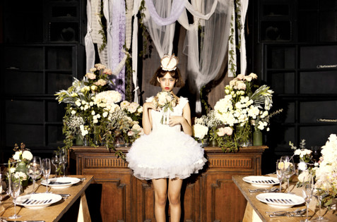 WEDDING CIRCUS bridal photo