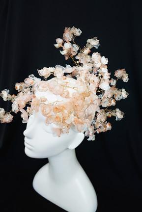 SAKURA -Japanese cherry blossom headpiece.