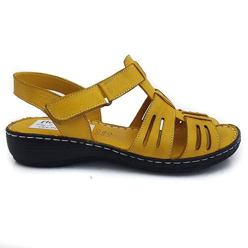 Sandala confort AH/803 GALBEN
