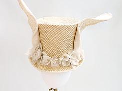 Bunny straw topper
