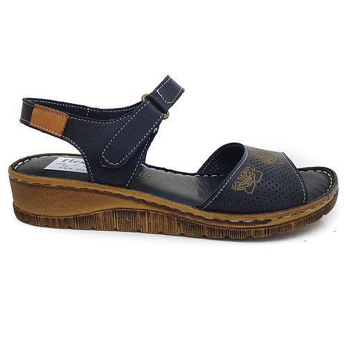 Sandala confort AH/90 NEGRU