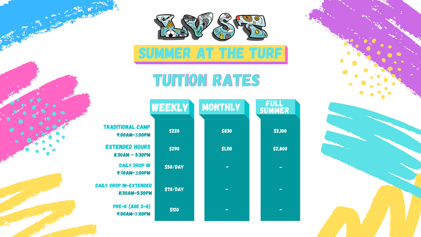 2021 Summer Camp Tuition Rates 3.28.28 P