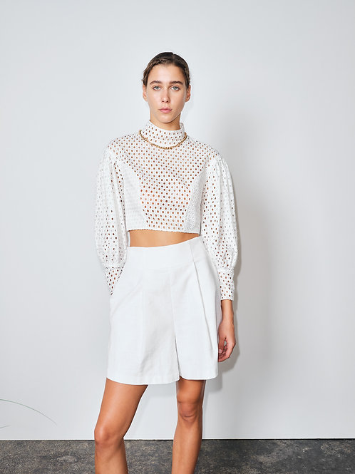 Blanc Canvas – Shorts