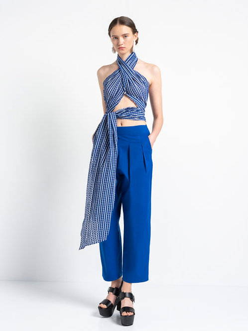 Cycladic Land – Scarf Top