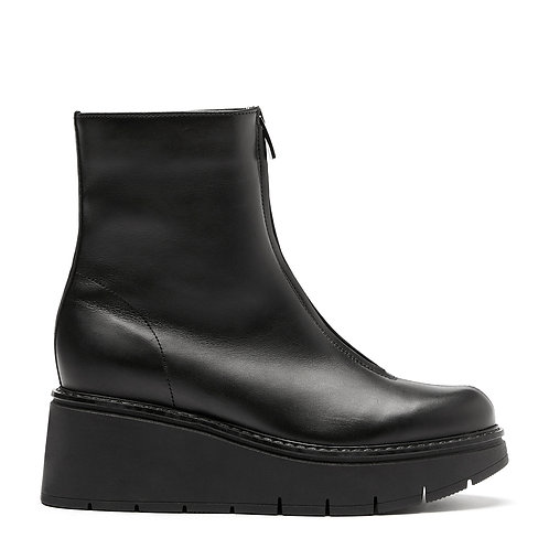GALE LEATHER BOOTIE