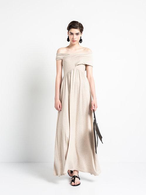 """CROSS ACROSS"" MAXI DRESS"