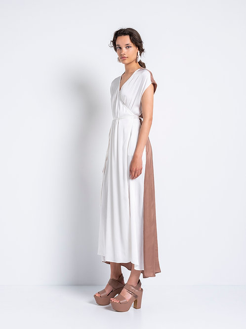 """GENTLE FLUIDITY"" CROSSED DRESS"