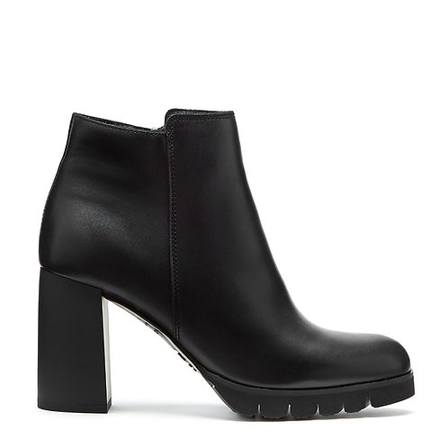 MAYA LEATHER BOOTIE