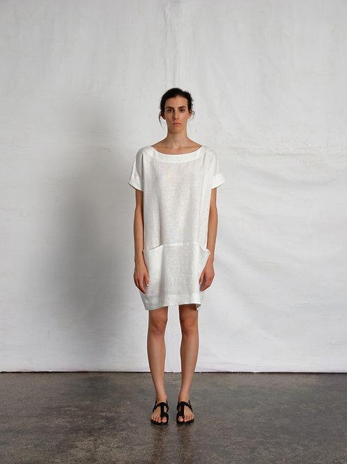 Linen Honesty – Mini Dress