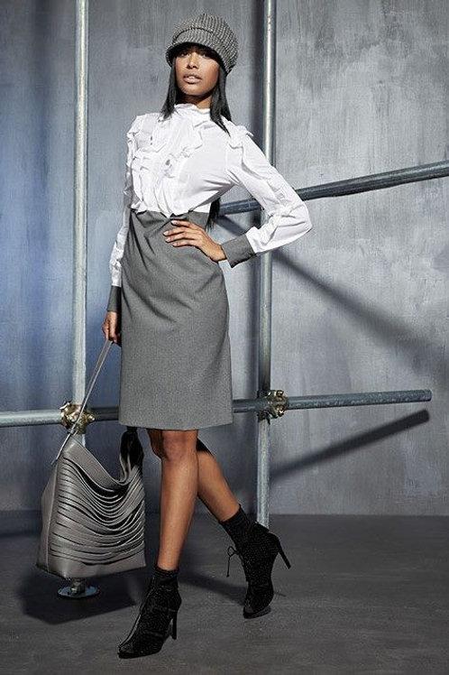 White/Grey Dress
