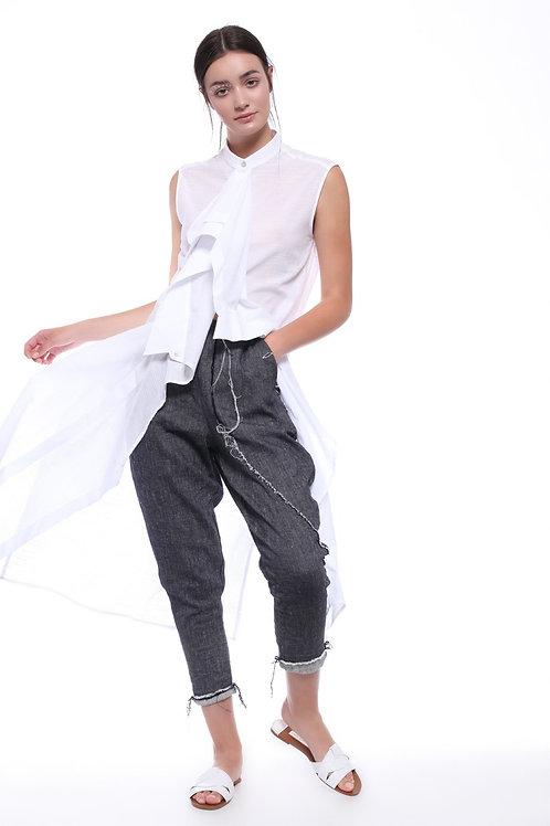 White Long Shirt Awina
