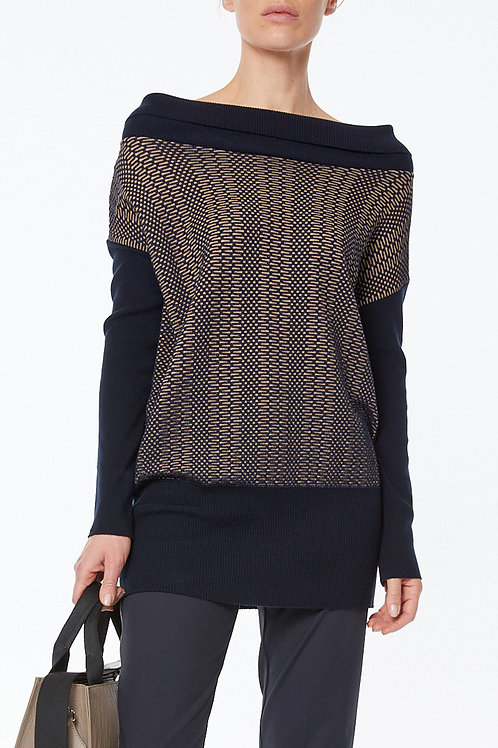 OVERSIZED TUNIC, KNITTED
