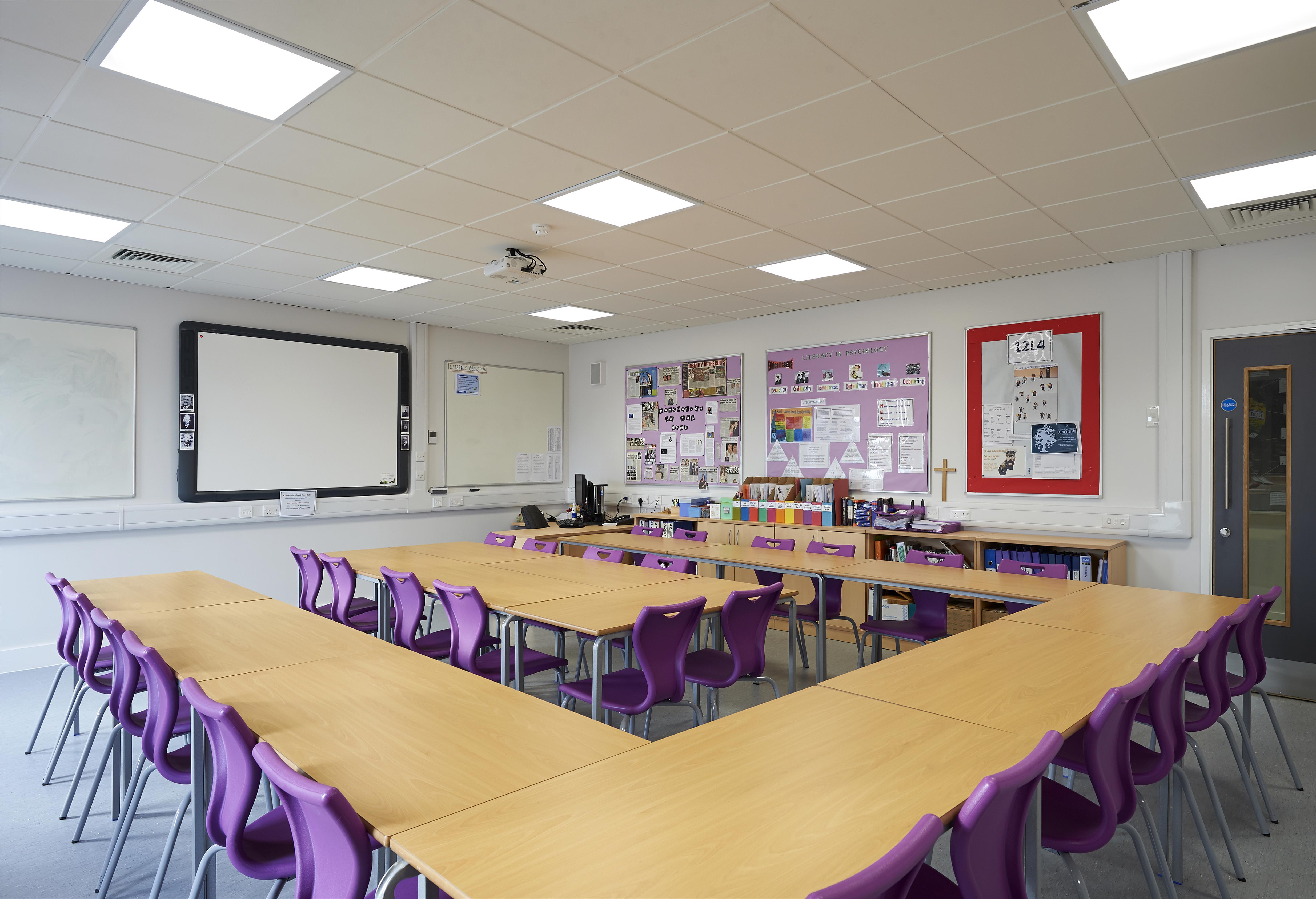 Subject Specific Teaching Spaces