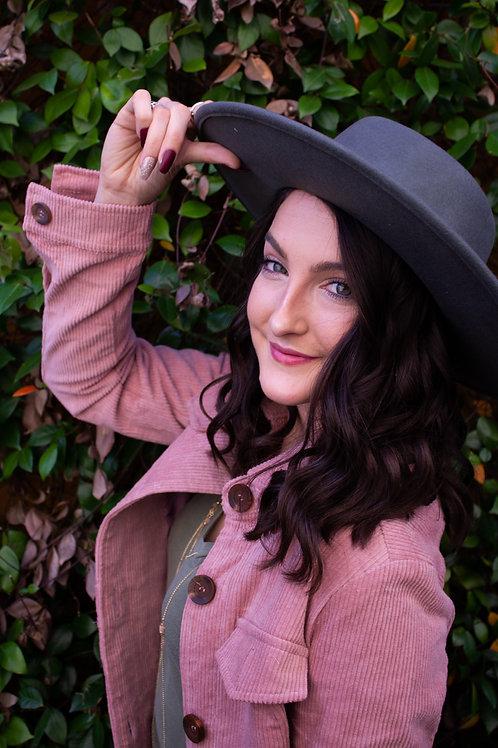 Emma's Classic blue hue hat