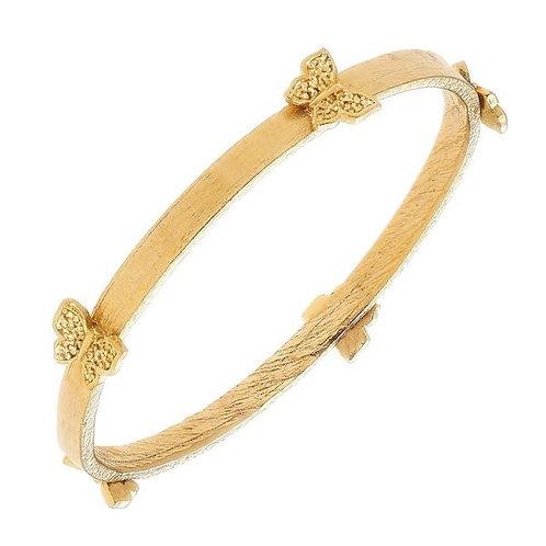 Golden Butterfly Bracelet