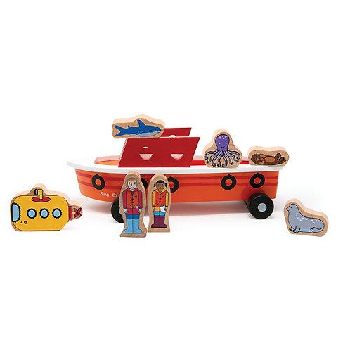 Jack Rabbit Creations | Ocean Explorer Boat