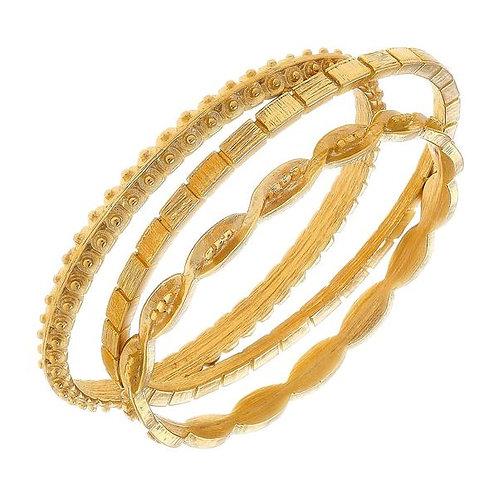 Assorted Golden Bracelets