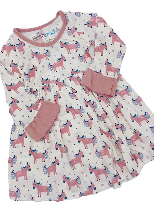 Super Soft Unicorn Dress