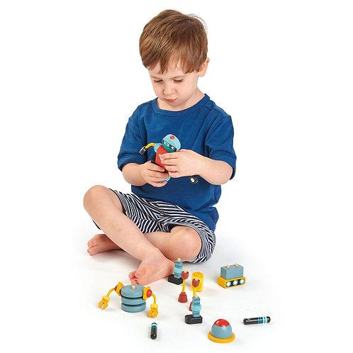 Robot Stacker Sensory Toy