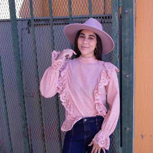 prairie blouse