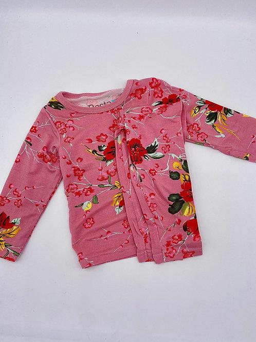 Pink Cherry Blossom Pjs