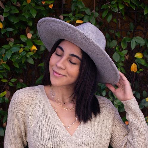 Faith's grey hat