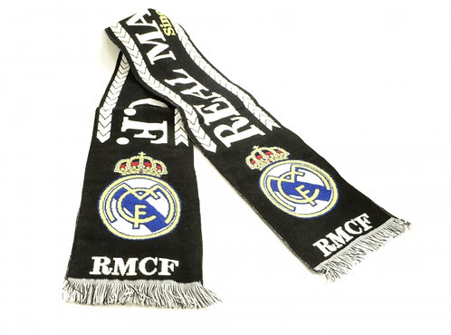 Scarf Real Madrid Black